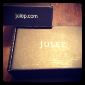 Got my Julep delivery