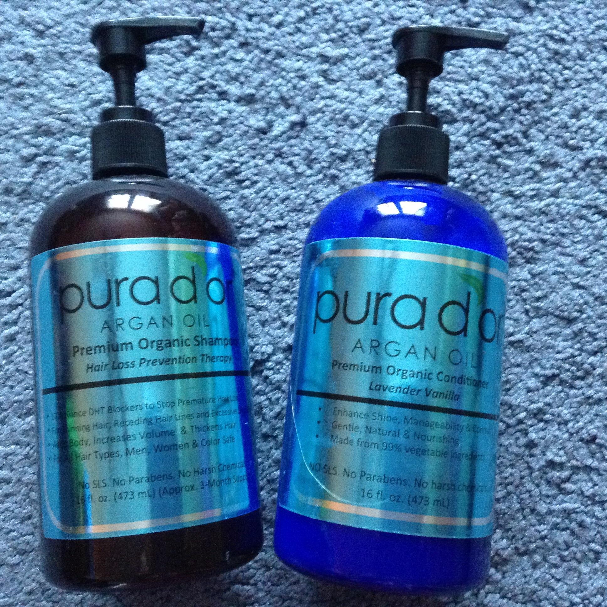 Amazing Hair Savior Pura D Or Argan Oil Organic Shampoo And